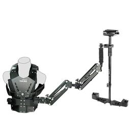 Flycam Galaxy Steadycam body Vest mount Arm + Redking Video