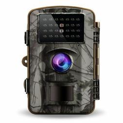 Gosira Trail Camera Motion Activated No Flash Night Vision 9