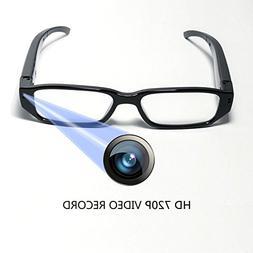 HD 720P Glasses Camera Video Recording DVR wtih 16GB Memory