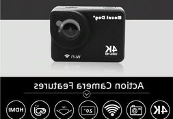 Go 4K Sports Action Camera Pro Accessories Ultra HD WiFi Rem