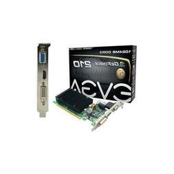 Graphics Cards-EVGA Corporation GEFORCE 210 PASSIVE PCIE 2.0