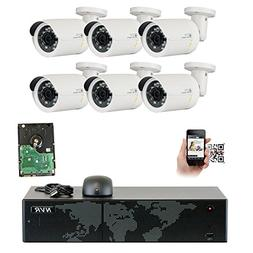 GW Security 8 Channel 5MP NVR 1920P IP Camera Surveillance V