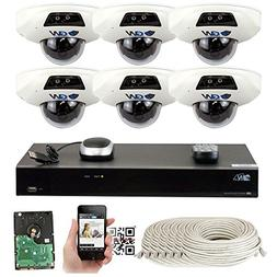 GW Security 8 Channel 4K NVR 5 Megapixel H.265 Security Came