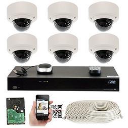GW Security 5-Megapixel  8 Channel PoE 4K NVR Security Camer