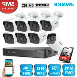 ANNKE H.265+ 8CH DVR 5MP Video Outdoor CCTV Security Camera