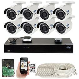 GW 8 Channel H.265 PoE NVR Ultra-HD 4K  Security Camera Syst
