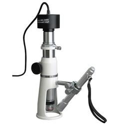 AmScope H250-M Digital Handheld Stand Measuring Microscope,