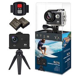4K Action Camera, Waterproof WiFi Sports Camera Full HD 4K 2