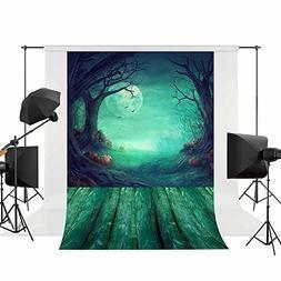 Allenjoy Halloween Backdrops for Photography Horror Pumpking