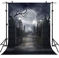 Ouyida Halloween Horror Night 6X9FT CP Pictorial cloth Photo
