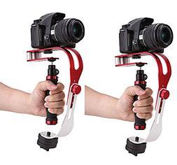 COOCHEER Pro Handheld Video Stabilizer Steady Cam Motion Ste