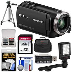 Panasonic HC-V180 HD Video Camera Camcorder with 32GB Card +
