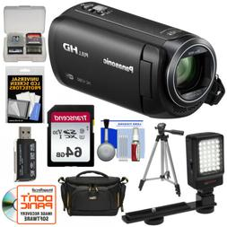 Panasonic HC-V380 Wi-Fi HD Video Camera Camcorder Kit