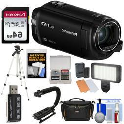 Panasonic HC-W580 Twin Wi-Fi HD Video Camera Camcorder Kit