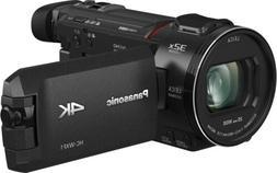 "Panasonic HC-WXF1K 4K Ultra HD 1/2.5"" MOS Sensor,EVF, Twin C"