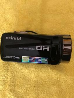 Kimire HD 1080P 16X Powerful Digital Zoom Video Camera