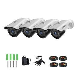 HD 1080P 2MP Security Cameras 36IR Night Vision Outdoor Vide