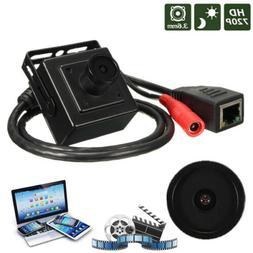 HD 720P 3.6mm Wired Mini CCTV IP Network Digital Video Camer