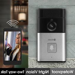 Digoo HD 720P PIR Bluetooth Smart WiFi Doorbell Wireless Vid