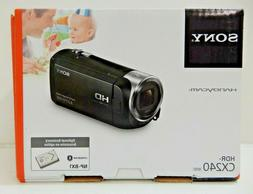 "Sony HDR-CX240 Handycam Video Camera w/2.7"" LCD"