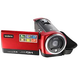 Andoer HDV-107 Digital Video Camcorder Camera HD 720P 16MP D