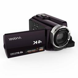 Andoer HDV-534K 4K 48MP WiFi Digital Video Camera 1080P Full