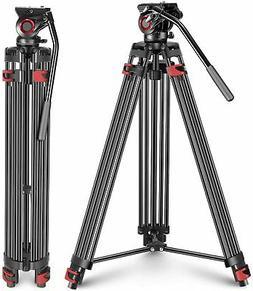 Neewer Professional Heavy Duty Video Camera Tripod,64 inches