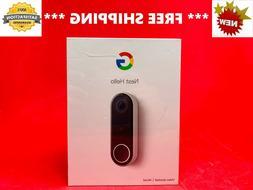 NEST HELLO Video Doorbell HDR Full HD  - Sealed NEW
