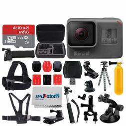 GoPro HERO6 Black Sports Action Video Camera + 32GB Micro SD