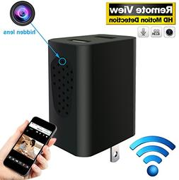 Hidden Camera Wireless - HD Spy Camera Portable - Motion Det