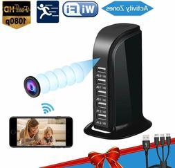 Hidden Camera Spy Wifi Remote Viewing Cameras 1080P Video Re