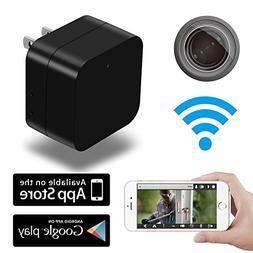 Hidden Camera Mini HD Spy 1080p WiFi Remote View Motion Dete