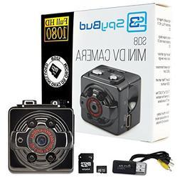 Spy Bud HD Hidden Mini Spy Camera SQ8 - Portable Motion Dete