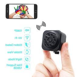 DareTang 1080p Mini Size Wireless Camera,Small Wifi Hidden C