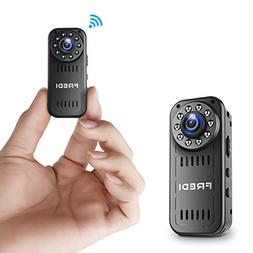 FREDI Hidden Camera 1080p HD Mini WiFi Camera spy Camera Wir