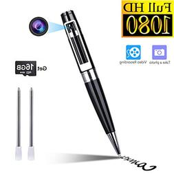 Hidden Camera Spy Camera Pen HD 1080P Portable Video Recorde