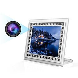 Hidden Spy Camera Photo Frame, Conbrov T10W HD 720P Hidden C