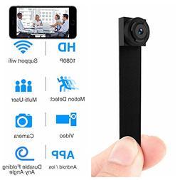 Hidden Spy Camera 1080P WiFi Mini Camera Portable Wireless S