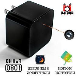Hidden Wall Camera - USB Charger Camera - Hidden Security Ca