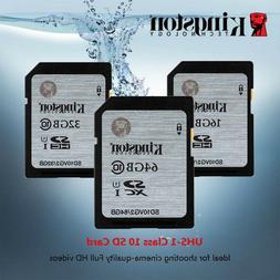 High Speed Flash Memory SDHC/XC SD Card 16 32 64 128GB UHS-1
