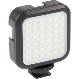 Vivitar Hot Shoe Rechargeable LED Video Light for Cameras &