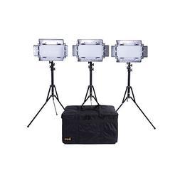 Ikan IB508 v2 KIT Bi Color LED Studio Light Black