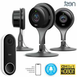 Nest Indoor Security Camera  w/ Nest Hello Smart Wi-Fi Video