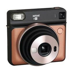 Fujifilm Instax Square SQ6 - Instant Film Camera - Blush Gol