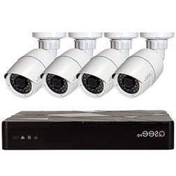 Q-See QT874-4AP-2 | HD IP Surveillance System Includes 4 Com