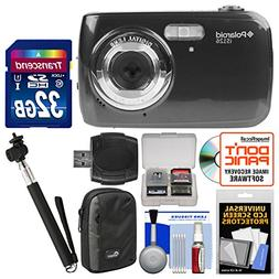 Polaroid iS126 16.1MP Digital Camera  with 32GB Card + Case