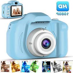 "Kids Camera Children Digital Cameras Toy 1080P 2.0"" Toddler"