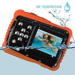 Kids Waterproof Camera, Digital Underwater Camera for Kids,
