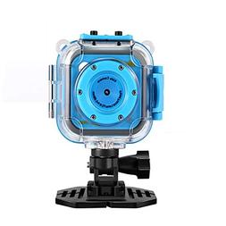 MUTANG Kids WiFi Action Camera Sports Camera HD Underwater D