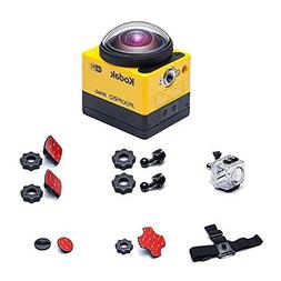 """Kodak PIXPRO SP360 Action Camcorder with 1"""" Status LCD and E"""